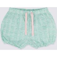 Pure Cotton Jersey Shorts