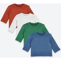 4 Pack Organic Cotton Waffle T-Shirts