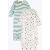 2 Pack Pure Cotton Striped & Star Bundler