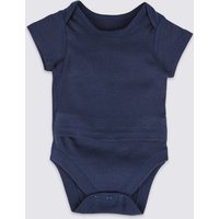 Easy Dressing Pure Cotton Bodysuit (0 Month - 3 Years)