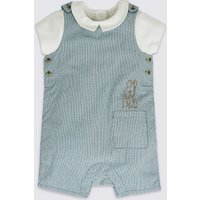 2 Piece Peter Rabbit Bib Short & Bodysuit