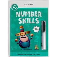 Number Skills Wipe Clean