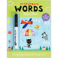 Arty Mouse Words Wipe Clean Book