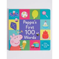 Peppa Pig First 100 Words Book
