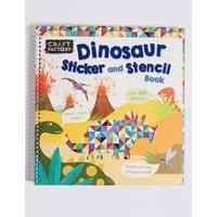 Craft Factory Dinosaur Stencil Book