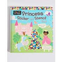 Craft Factory Princess Stencil Book