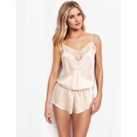 ROSIE Silk and Lace Teddy