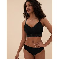 M&S Collection Louisa Lace Longline DD+ Bralet