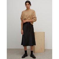 Nobodys Child Satin Midi Wrap Skirt