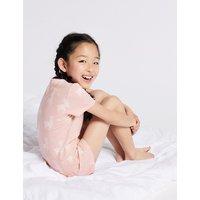 Cotton Llama Short Pyjamas with Stretch (3-16 Years)