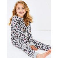 Animal Print Pyjama Set (3-16 Years)