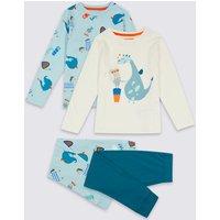 2 Pack Mouse Knight Pyjamas (1-7 Years)