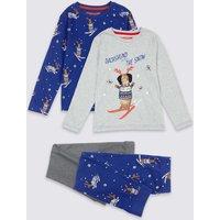 2 Pack Pyjamas (1-7 Years)