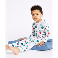 Cotton Space Pyjamas with Stretch (1-7 Years)