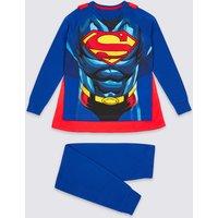 Superman Pyjamas with Cape (2-10 Years)