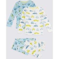 2 Pack Transport Pyjama Set (1-7 Years)