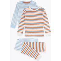 2 Pack Striped Pyjama Set (1-7 Years)