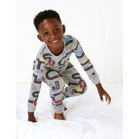 Car Print Pyjama Set (1-7 Years)