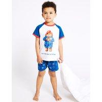 Paddington Pure Cotton Short Pyjamas (1-7 Years)