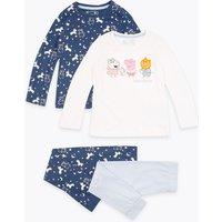 2 Pack Cotton Peppa Pig Pyjamas (1-7 Years)