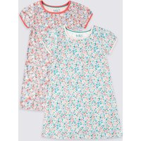 2 Pack Floral Nightdress (1-7 Years)