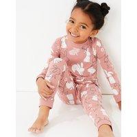 Bunny Print Pyjama Set (1-7 Years)