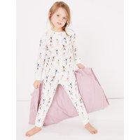 Ballerina Print Pyjama Set (1-7 Years)