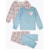 2 Pack Floral Print Pyjama Set (1-7 Years)