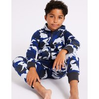Pure Cotton Hooded Onesie (1-16 Years)