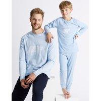 Cotton Blend Pyjamas (3-16 Years)