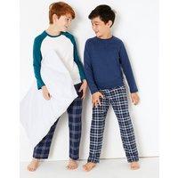 2 Pack Raglan Pyjama Set (3-16 Years)