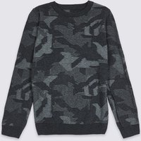 Pure Cotton Jumper (3-16 Years)