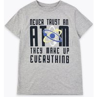 Adaptive Cotton Never Trust An Atom T-Shirt (1-16 Years)