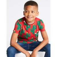 Pure Cotton Cactus T-Shirt (3-16 Years)