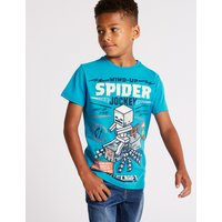 Pure Cotton Minecraft T-Shirt (3-16 Years)