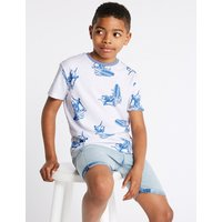 Pure Cotton Surf T-Shirt (3-16 Years)