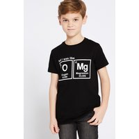 Pure Cotton T-Shirt (3-16 Years)