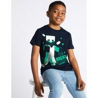 Minecraft Pure Cotton T-Shirt (3-16 Years)