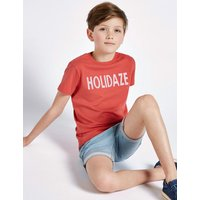 Pure Cotton Holidaze T-Shirt (3-16 Years)
