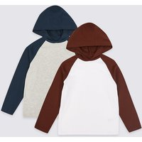 2 Pack Hooded Tops (3-16 Years)