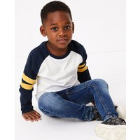Cotton Raglan Top (2-7 Years)