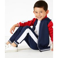 Cotton Colour Block Drawstring Joggers (3 Months - 7 Years)