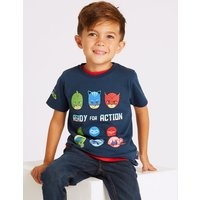 Pure Cotton Printed T-Shirt (3 Months - 7 Years)