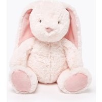 M&S Unisex Boys Girls Bunny Soft Toy - 1SIZE - Pink Mix, Pink Mix