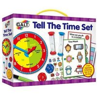 M&S Galt Unisex Tell The Time Set (5+ Yrs) - 1SIZE