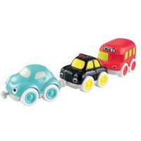 M&S Early Learning Centre Unisex Whizz World City Vehicle Magnetic Trio Set (1-3 Yrs) - 1SIZE