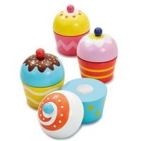 M&S Early Learning Centre Unisex Wooden Cute Cupcakes (3+ Yrs) - 1SIZE