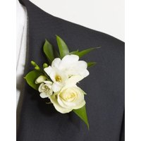 M&S 1 Groom and 3 Guest Buttonholes