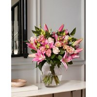 M&S Collection Lily & Lisianthus Bouquet