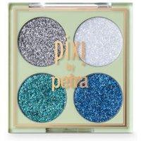 M&S Pixi Glitter-y Eye Quad - 1SIZE - Blue, Blue,Gold,Copper Rose